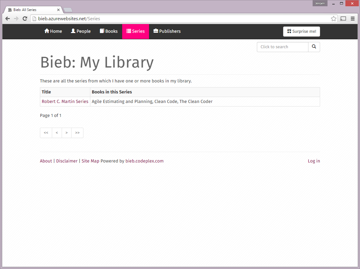 Bieb - Series Index - LG View