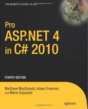 Pro ASP.NET 4 in C# 2010