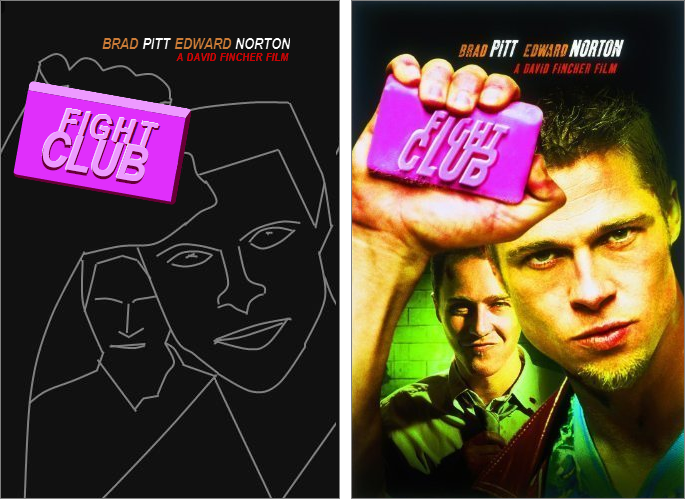 Fight Club CSS Kata Result